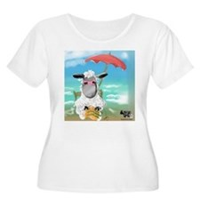 Just Beachy 2 Plus Size T-Shirt