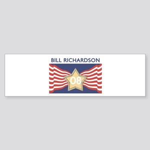 Elect BILL RICHARDSON 08 Bumper Sticker