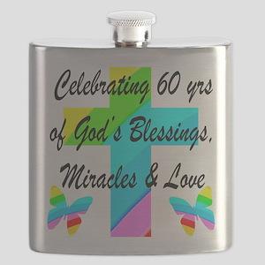 60 YR OLD PRAYER Flask