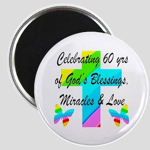 60 YR OLD PRAYER Magnet