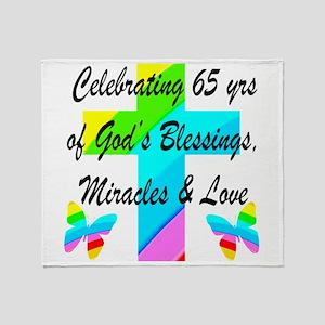 65 YR OLD PRAYER Throw Blanket