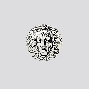 Medusa Mini Button (10 pack)