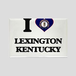 I love Lexington Kentucky Magnets