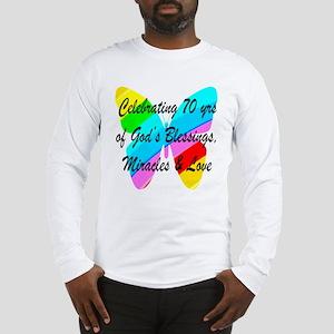 GOD LOVING 70TH Long Sleeve T-Shirt