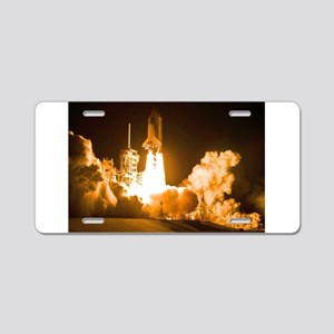 Space Shuttle Discovery Aluminum License Plate