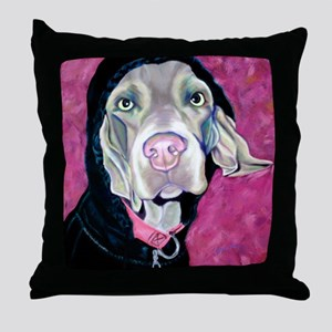 Supermodel Throw Pillow