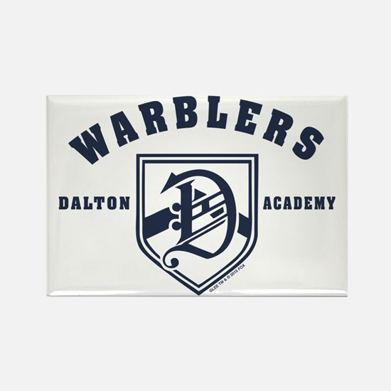 Glee Dalton Academy Warblers Rectangle Magnet