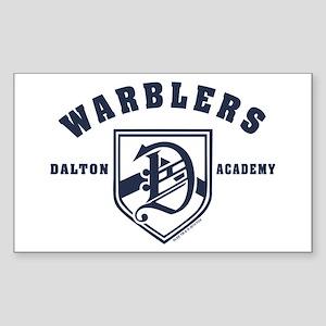 Glee Dalton Academy Warblers Sticker (Rectangle)