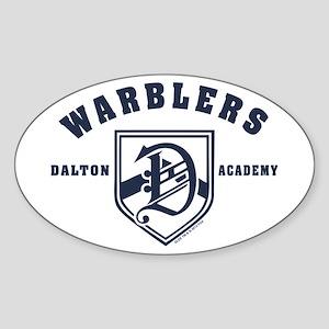 Glee Dalton Academy Warblers Sticker (Oval)