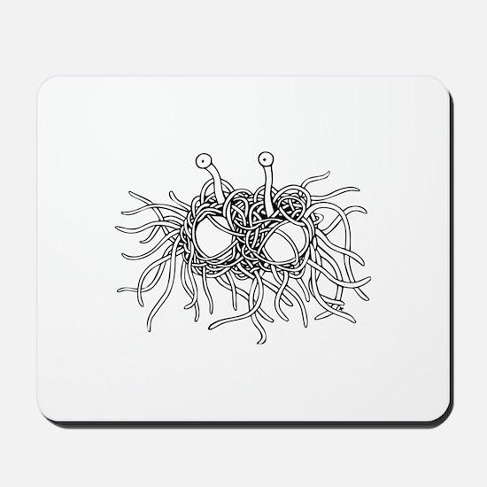 Flying Spaghetti Monster I Mousepad