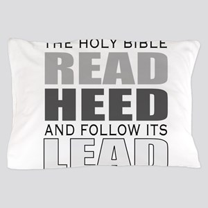 Christian bible leader Pillow Case