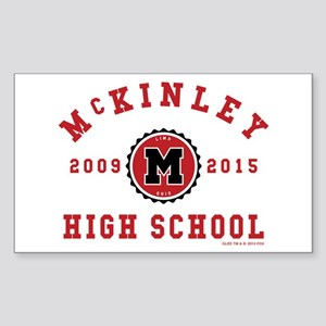 Glee McKinley High School 2009 Sticker (Rectangle)