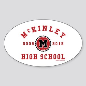 Glee McKinley High School 2009-2015 Sticker (Oval)