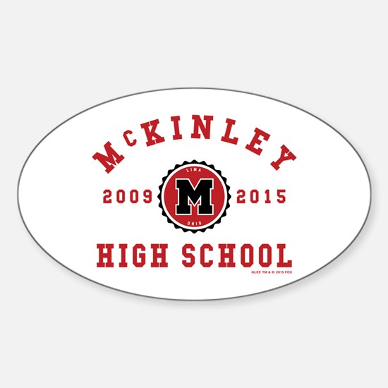Glee McKinley High School 2009-2015 Sticker (Oval)