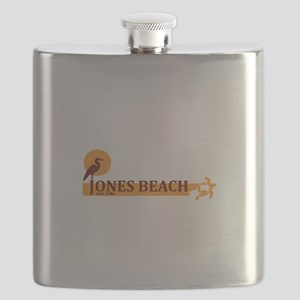 Jones Beach - New York. Flask