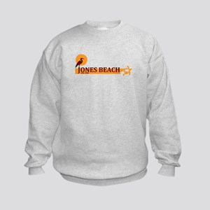Jones Beach - New York. Kids Sweatshirt