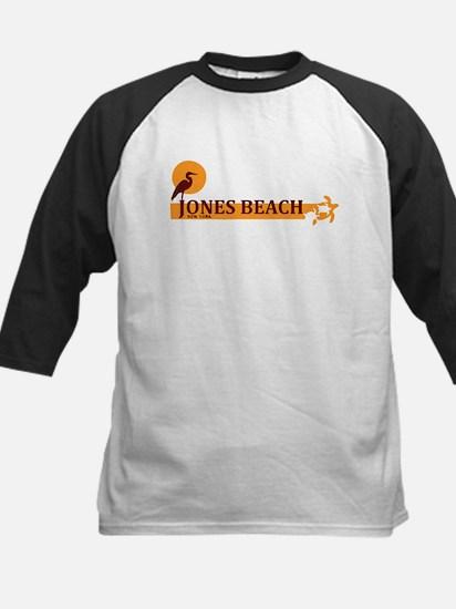 Jones Beach - New York. Kids Baseball Jersey