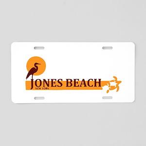 Jones Beach - New York. Aluminum License Plate
