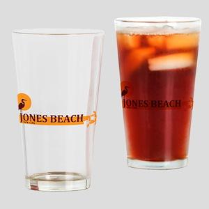 Jones Beach - New York. Drinking Glass