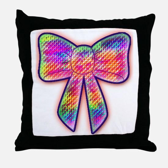 Cute Bowtie Throw Pillow