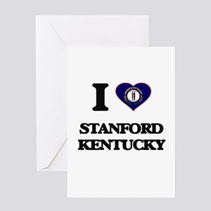 I love Stanford Kentucky Greeting Cards