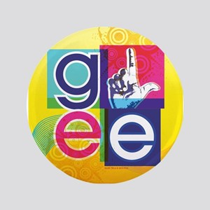 Glee Colorful Button