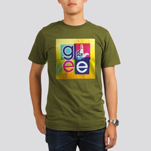Glee Colorful Organic Men's T-Shirt (dark)