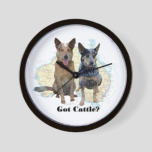 Got Cattle? Wall Clock