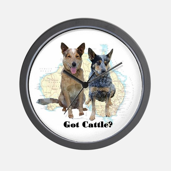 Got Cattle? Wall Clock