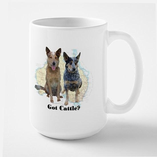 Got Cattle? Large Mug