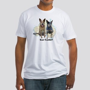 Got Cattle? Fitted T-Shirt