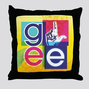 Glee Colorful Throw Pillow