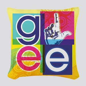 Glee Colorful Woven Throw Pillow