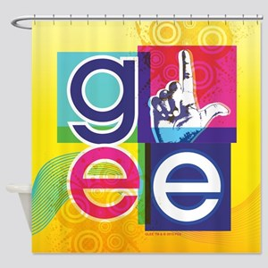 Glee Colorful Shower Curtain