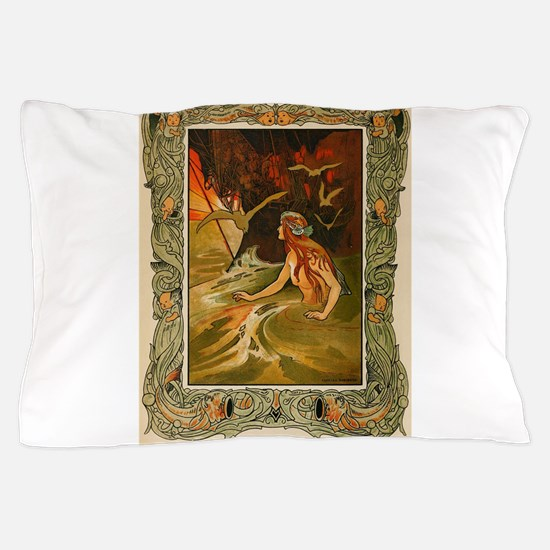 The Mermaid HC Andersen Pillow Case