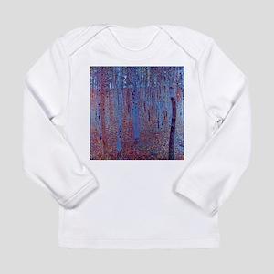 beech forest klimt Long Sleeve T-Shirt