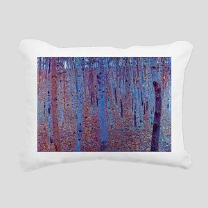 Beech Forest by Gustav K Rectangular Canvas Pillow