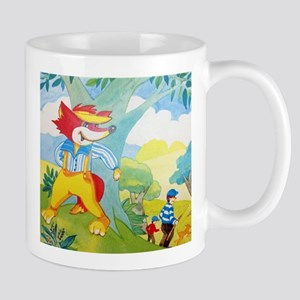 Fox and the hunter Mugs