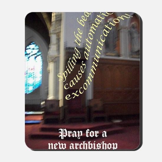 Poor episcopal leadership Mousepad