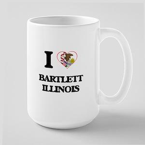 I love Bartlett Illinois Mugs