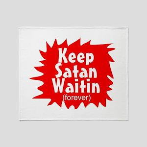 Funny christian gift Throw Blanket