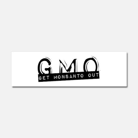 Unique Monsanto Car Magnet 10 x 3