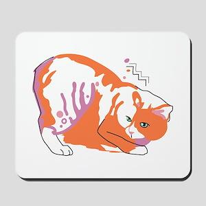 Manx cat Mousepad