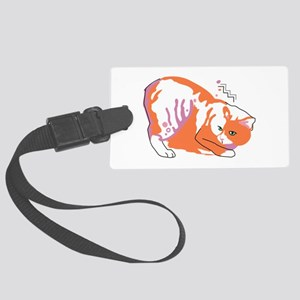Manx cat Luggage Tag
