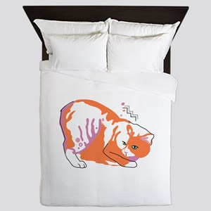 Manx cat Queen Duvet