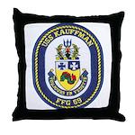 USS KAUFFMAN Throw Pillow