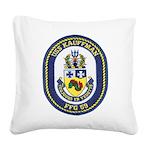 USS KAUFFMAN Square Canvas Pillow