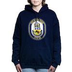 USS KAUFFMAN Women's Hooded Sweatshirt