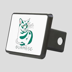 Burmese cat Hitch Cover