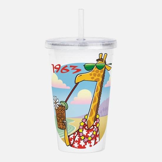 giraffe Acrylic Double-wall Tumbler